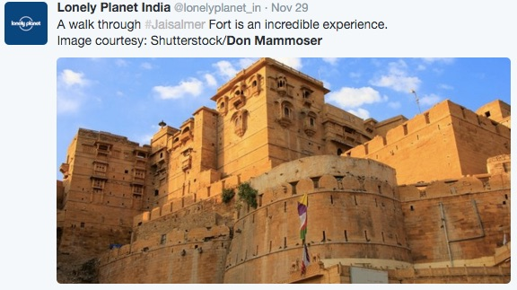 Jaisalmer Fort Image by Don Mammoser