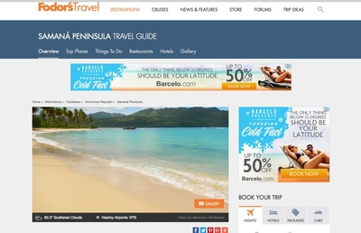 Fodor's Travel Uses Samana Peninsula Image by Photographer Don Mammoser